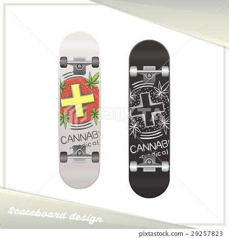 Medical Marijuana Skateboard Six 29257823