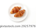 크로와상, 빵, 음식 29257976