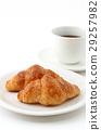 크로와상, 빵, 음식 29257982