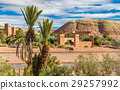 View of Ait Benhaddou, a UNESCO world heritage 29257992