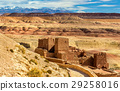 Traditional clay houses in Ait Ben Haddou village 29258016
