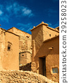 Traditional clay houses in Ait Ben Haddou village 29258023