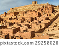 Traditional clay houses in Ait Ben Haddou village 29258028