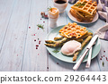 boiled egg and asparagus 29264443