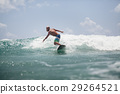surfer man surfing on waves splash actively 29264521