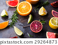 Ingredients for healthy drink. 29264873