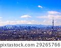도쿄, 겨울, 푸른 29265766