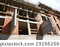 Housing construction in shell construction 29266266