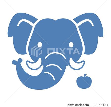 大象 動物 圖標 29267184