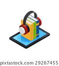 book, isometric, knowledge 29267455
