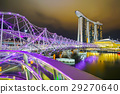 Landscape of Felix bridge and Marina Bay Sands 29270640