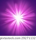 Glowing light violet burst 29271132