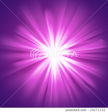 Glowing light violet burst 29271132