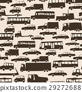 Seamless cartoon background with many cars. 29272688