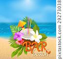雞尾酒 椰子 熱帶 29273038