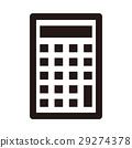 计算器 图标 单色调 29274378