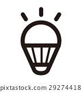 LED전구, 아이콘, 전구 29274418