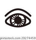 眼睛 目光 圖標 29274459