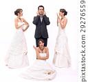 newlyweds, love, bride 29276559