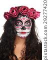 portrait of skull face 29277420