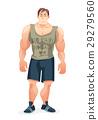 vector, cartoon, body 29279560