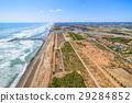 Aerial photograph near Yoshizaki City 29284852