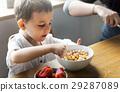 boy, breakfast, cereal 29287089
