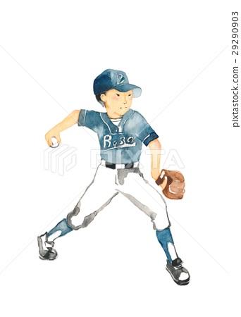 야구 소년 투수 29290903