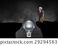 Business Strategy and Challenge Concept. 29294563