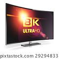 tv curved 8k 29294833