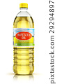 Plastic bottle with rapeseed oil 29294897