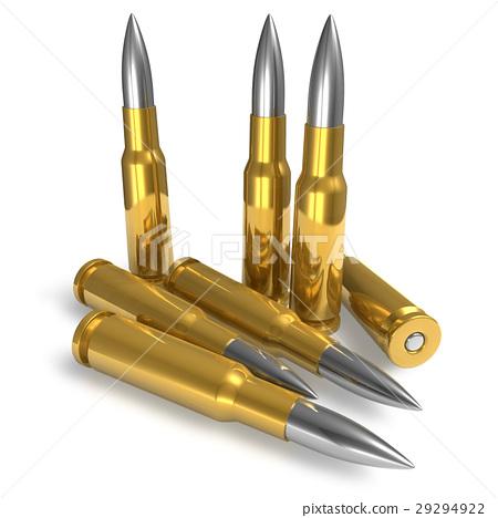 Set of bullets 29294922