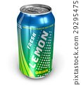 drink, can, lemon 29295475