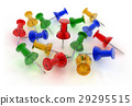 Color pushpins 29295515