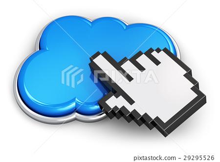 Cloud computing concept 29295526