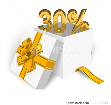 30% discount concept 29296057