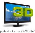 3D television concept 29296067