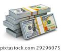 美元 100 钱 29296075