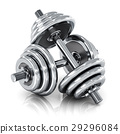 dumbbell weight dumbbells 29296084