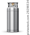 High pressure industrial container for liquefied 29296534