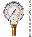 High pressure industrial gas gauge meter manometer 29296535