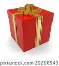 Red gift box 29296543
