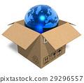 earth, globe, box 29296557