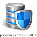 Database and computer data security concept 29296818