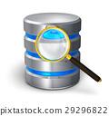 File search and hard disk diagnostics concept 29296822