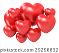 Red hearts 29296832