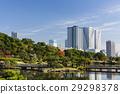 秋天的Hamarikyu花园和丰滨的塔公寓 29298378