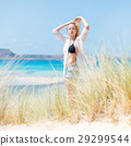 Free Happy Woman Enjoying Sun on Vacations. 29299544