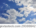 blue sky, cloud, clouds 29300642