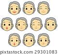 人臉 臉部 臉 29301083